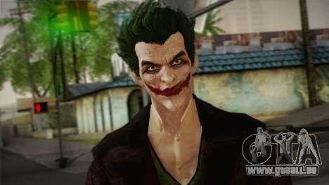 Joker From Batman: Arkham Origins pour GTA San Andreas troisième écran