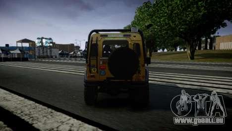 Land Rover Defender für GTA 4 rechte Ansicht