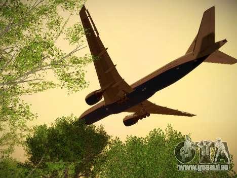 Boeing 777-2Q8ER Orenair Airlines für GTA San Andreas Rückansicht