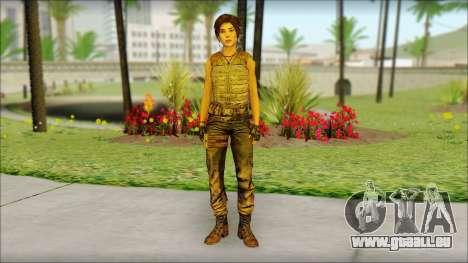 Tomb Raider Skin 15 2013 für GTA San Andreas