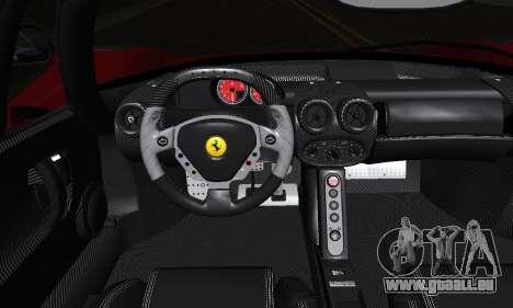 Ferrari Gemballa MIG-U1 pour GTA San Andreas vue de dessous