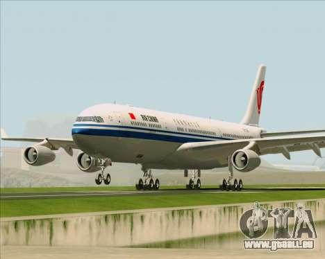 Airbus A340-313 Air China für GTA San Andreas Seitenansicht