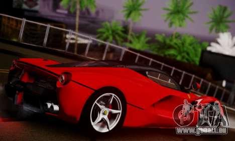Ferrari LaFerrari F70 2014 pour GTA San Andreas vue intérieure