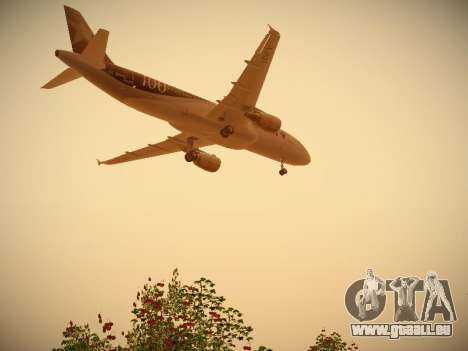 Airbus A320-214 LAN Airlines 100th Plane pour GTA San Andreas moteur