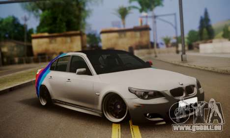 BMW M5 E60 Stance Works pour GTA San Andreas