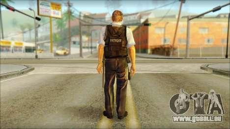 Un policier de la TC SC: Conviction pour GTA San Andreas deuxième écran