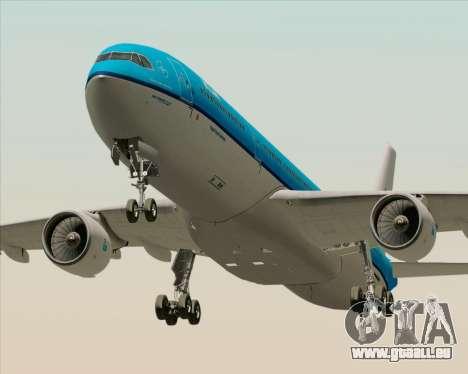 Airbus A330-300 KLM Royal Dutch Airlines pour GTA San Andreas laissé vue