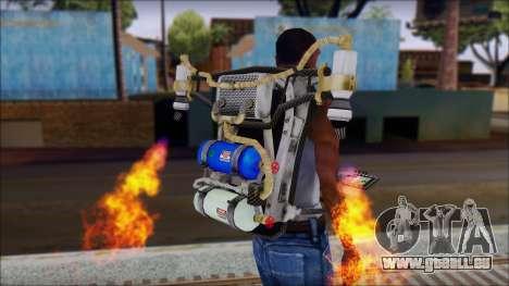 New Jetpack pour GTA San Andreas deuxième écran