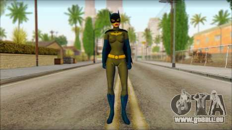 Batgirl für GTA San Andreas