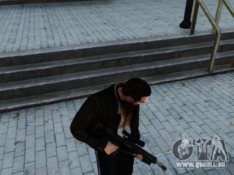 Barrett M107CQ für GTA 4 dritte Screenshot
