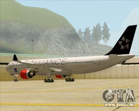 Airbus A330-300 SAS (Star Alliance Livery) für GTA San Andreas rechten Ansicht