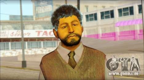 GTA 5 Ped 16 pour GTA San Andreas troisième écran