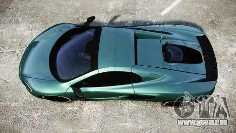 McLaren 650S Spider 2014 [EPM] Yokohama ADVAN v1 pour GTA 4 est un droit