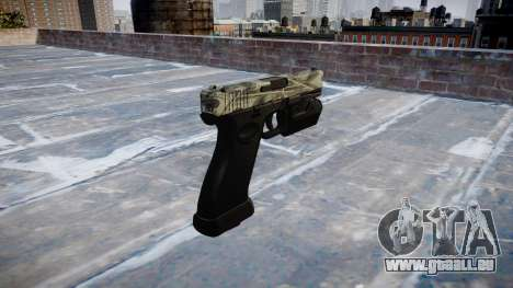 Pistolet Glock 20 benjamins pour GTA 4 secondes d'écran
