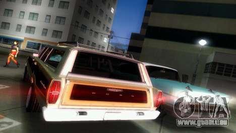 Ford Country Squire pour une vue GTA Vice City de l'intérieur