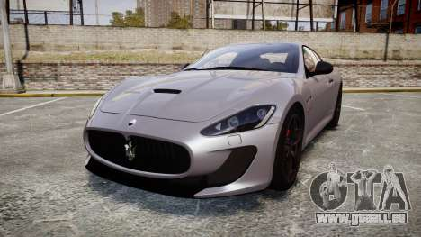 Maserati GranTurismo MC Stradale 2014 [Updated] pour GTA 4