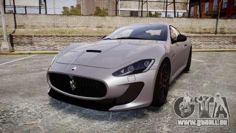 Maserati GranTurismo MC Stradale 2014 [Updated] für GTA 4