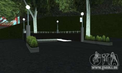 Eine neue U-Bahn-station in San Fierro für GTA San Andreas fünften Screenshot