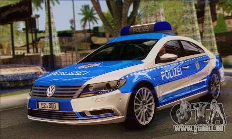 Volkswagen Passat CC Polizei 2013 v1.0 pour GTA San Andreas