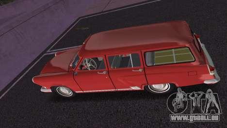 GAS-22 Wolga 1965 für GTA Vice City Innenansicht