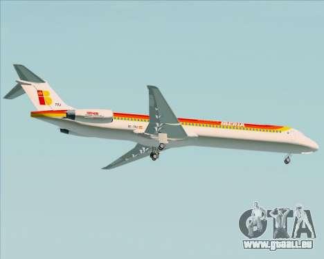 McDonnell Douglas MD-82 Iberia für GTA San Andreas rechten Ansicht