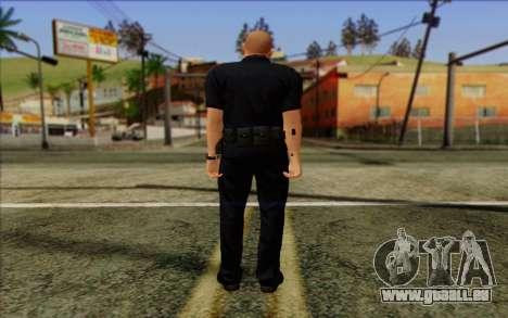 Polizei (GTA 5) Haut 2 für GTA San Andreas zweiten Screenshot