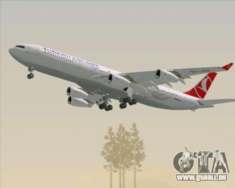 Airbus A340-313 Turkish Airlines für GTA San Andreas