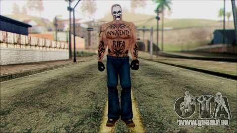 Manhunt Ped 5 pour GTA San Andreas