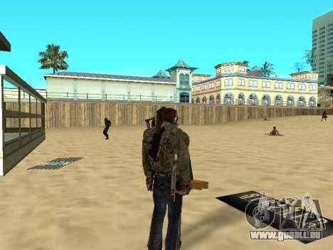 Nouveau tapis sur la plage pour GTA San Andreas