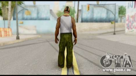 MR T Skin v4 für GTA San Andreas zweiten Screenshot