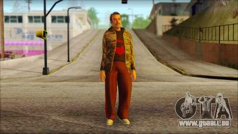 GTA 5 Ped 9 pour GTA San Andreas