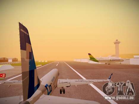 Embraer E190 TRIP Linhas Aereas Brasileira pour GTA San Andreas moteur