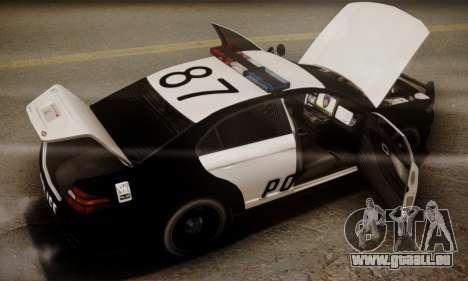 Vapid Police Interceptor from GTA V pour GTA San Andreas moteur