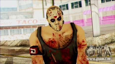 Manhunt Ped 12 pour GTA San Andreas troisième écran