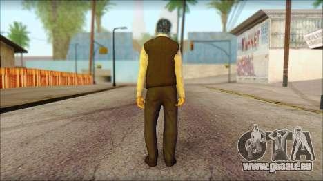 GTA 5 Ped 15 pour GTA San Andreas deuxième écran