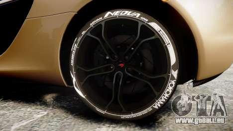 McLaren 650S Spider 2014 [EPM] Yokohama ADVAN v2 pour GTA 4 Vue arrière