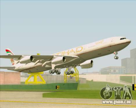Airbus A340-313 Etihad Airways pour GTA San Andreas salon