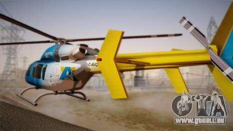 Bell 429 v2 für GTA San Andreas linke Ansicht