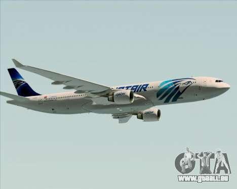 Airbus A330-300 EgyptAir pour GTA San Andreas moteur