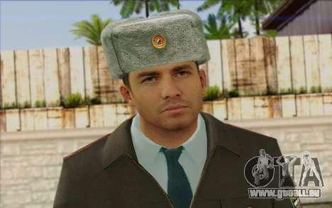 La Police De La Russie De La Peau 3 pour GTA San Andreas troisième écran