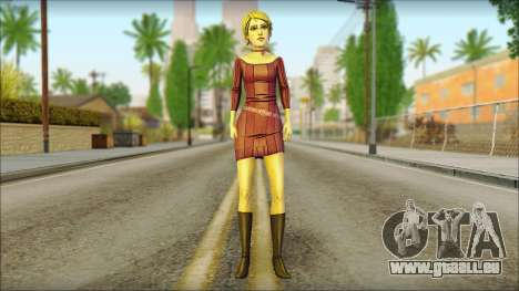 Vivian from Wolf Among Us für GTA San Andreas