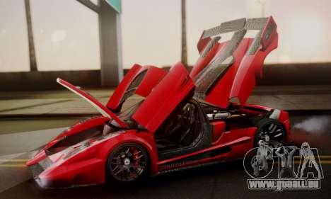 Ferrari Gemballa MIG-U1 pour GTA San Andreas moteur