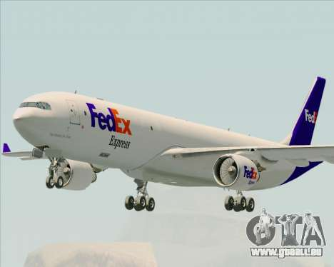 Airbus A330-300P2F Federal Express pour GTA San Andreas