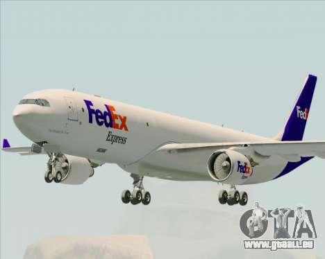 Airbus A330-300P2F Federal Express für GTA San Andreas