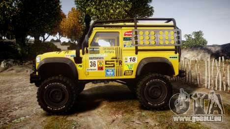 Land Rover Defender für GTA 4 linke Ansicht