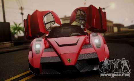 Ferrari Gemballa MIG-U1 pour GTA San Andreas vue arrière