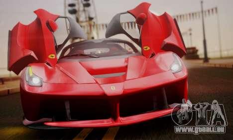 Ferrari LaFerrari F70 2014 pour GTA San Andreas moteur