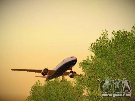Boeing 777-2Q8ER Orenair Airlines pour GTA San Andreas vue intérieure