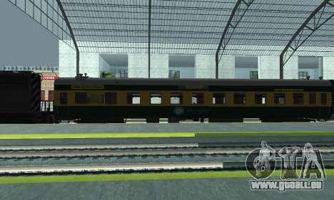 Garib Rath Express für GTA San Andreas linke Ansicht