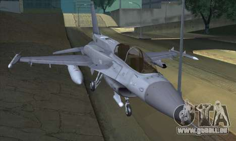 F-16D Block 60 pour GTA San Andreas